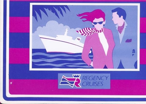 Regency welcome aboard pics