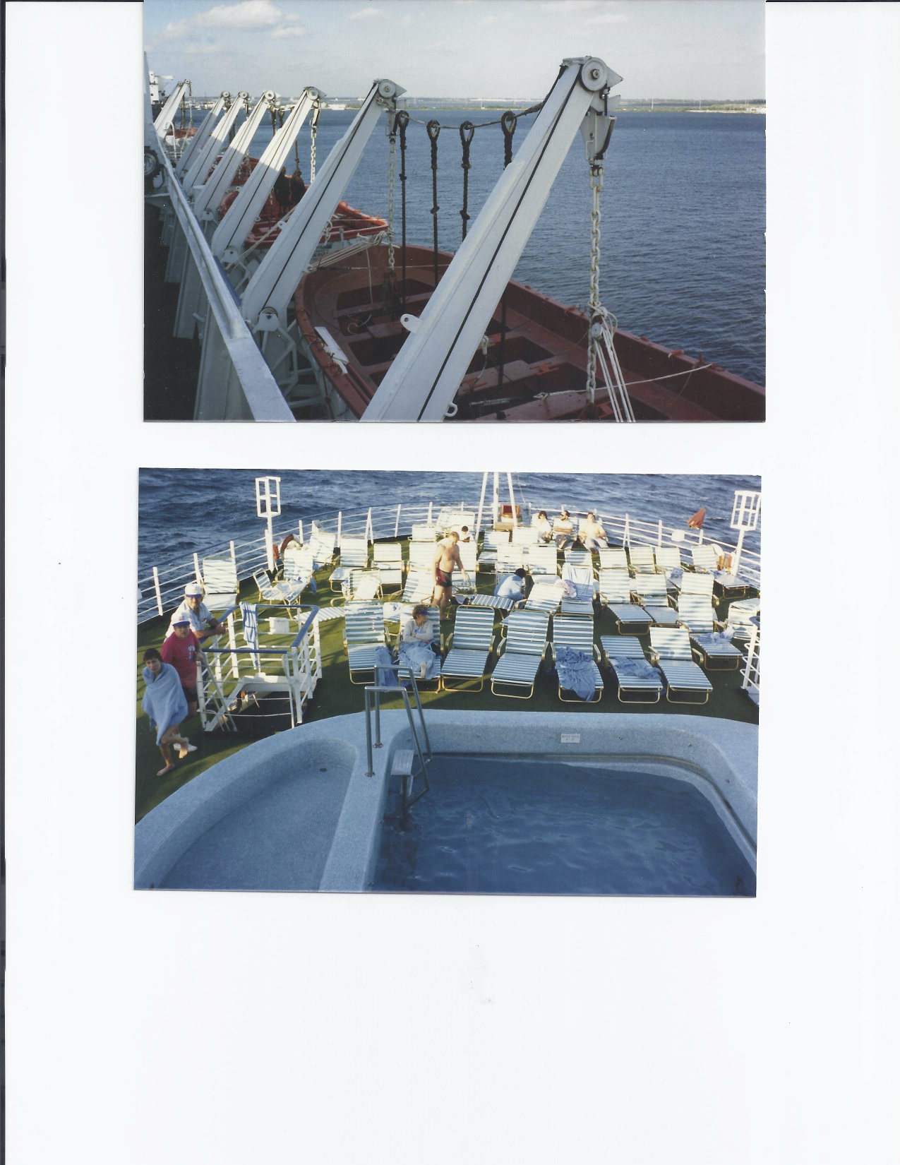 Veracruz pool deck