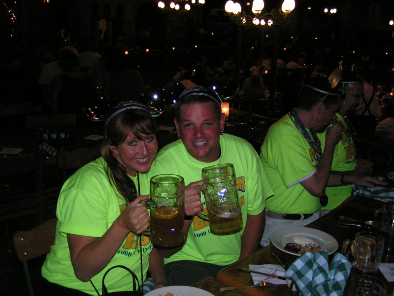 Angie and Drew in Germany