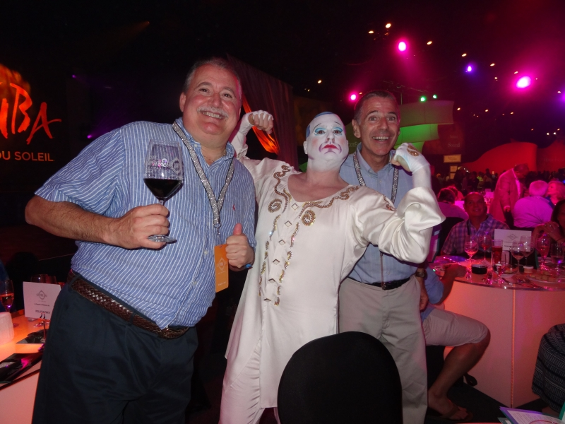 Steve's with Cirque Soleil performer 1