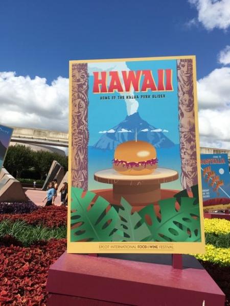 Aloha to Food and Wine festival!