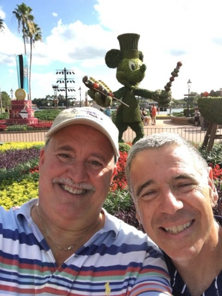 The Steve's with Chef Mickey!