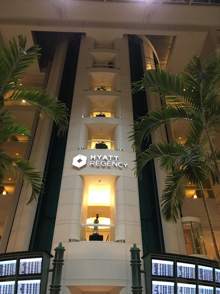 Hyatt MCO elevators