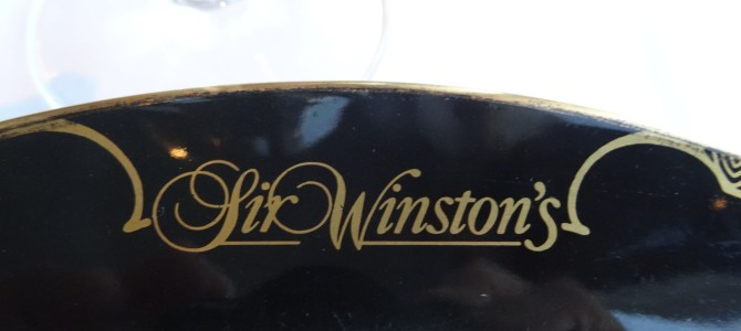 Dinner at Sir Winston's – Queen Mary Hotel