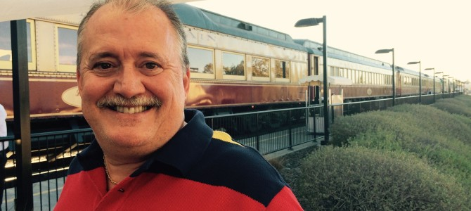 Dinner aboard the Napa Wine Train