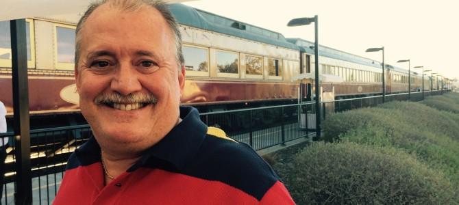 Dinner aboard the Napa Wine Train