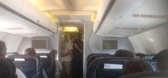 Emergency landing in New Orleans!
