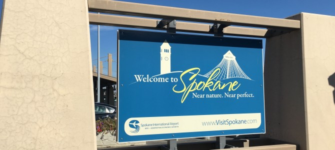 Spokane on the way . . .right before holiday!