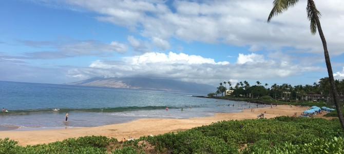 First day in Maui