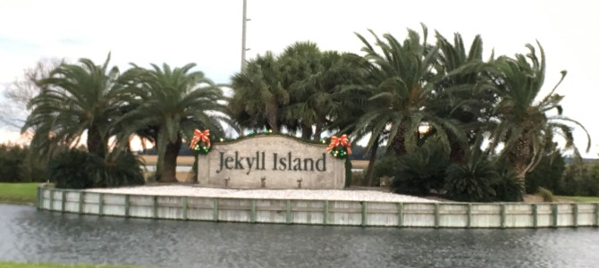Pre-Christmas weekend at Jekyll – part 1