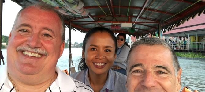 Touring the Bangkok suburbs with Nok