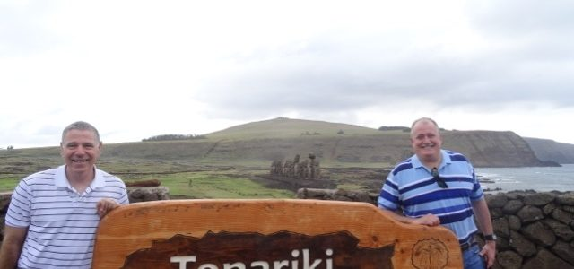 Touring Tonjariki on Easter Island!