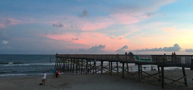 Evening walks along the beach