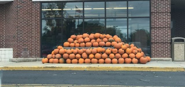 Fall in Philly and flight delay. But bonus Halloween pics!