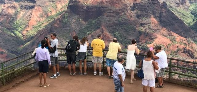 Waimea Canyon by Land