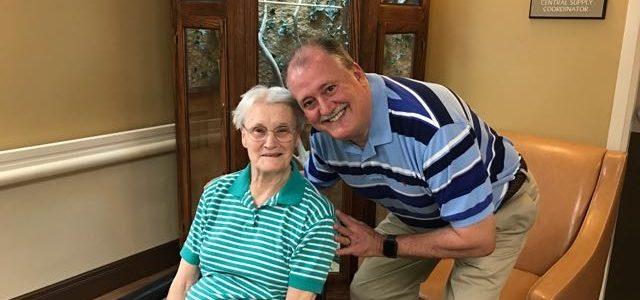 Visiting Mom in Roanoke