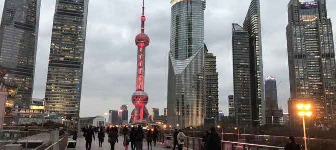 Three days in Shanghai