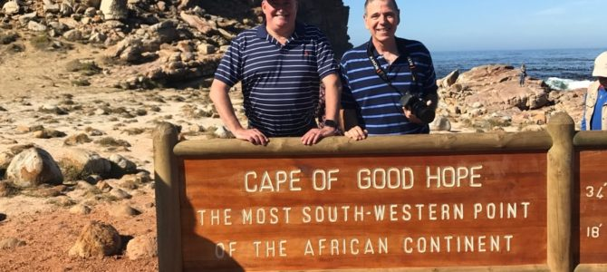 First Day Sightseeing in Cape Town