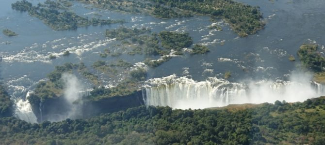 Victoria Falls by Land, Sea, and Helicopter!