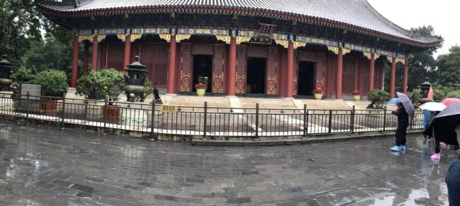 Touring Beijing Day 1 – Temple of Heaven, Summer Palace and Olympic Stadium