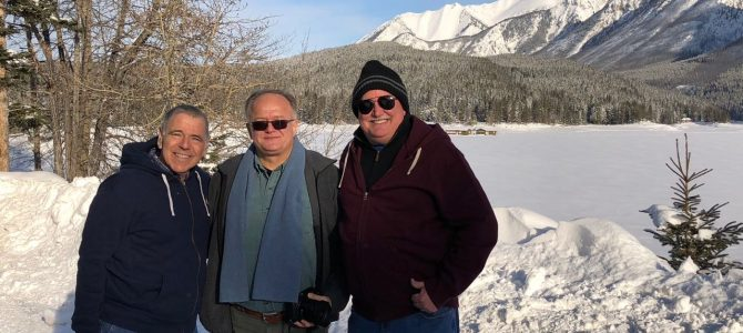 Touring Banff and Lake Louise with Petar