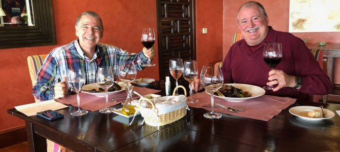 Wine pairing lunch at Clos Apalta