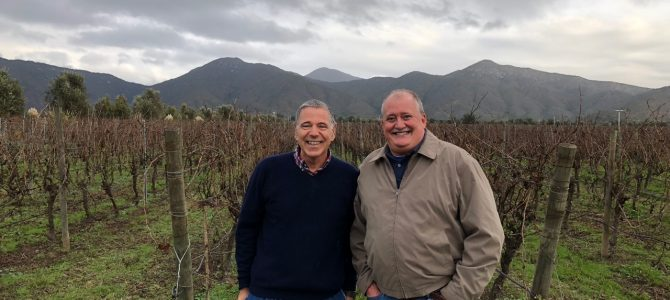 Touring the Chilean Wineries – Day Uno