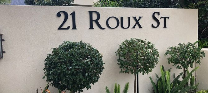Our Stay at 21 Roux Street in Franschhoek, South Africa
