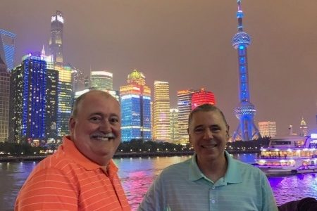 Touring the BUND area and Evening cruise in Shanghai