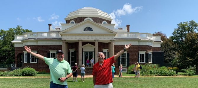 Day tour of Monticello