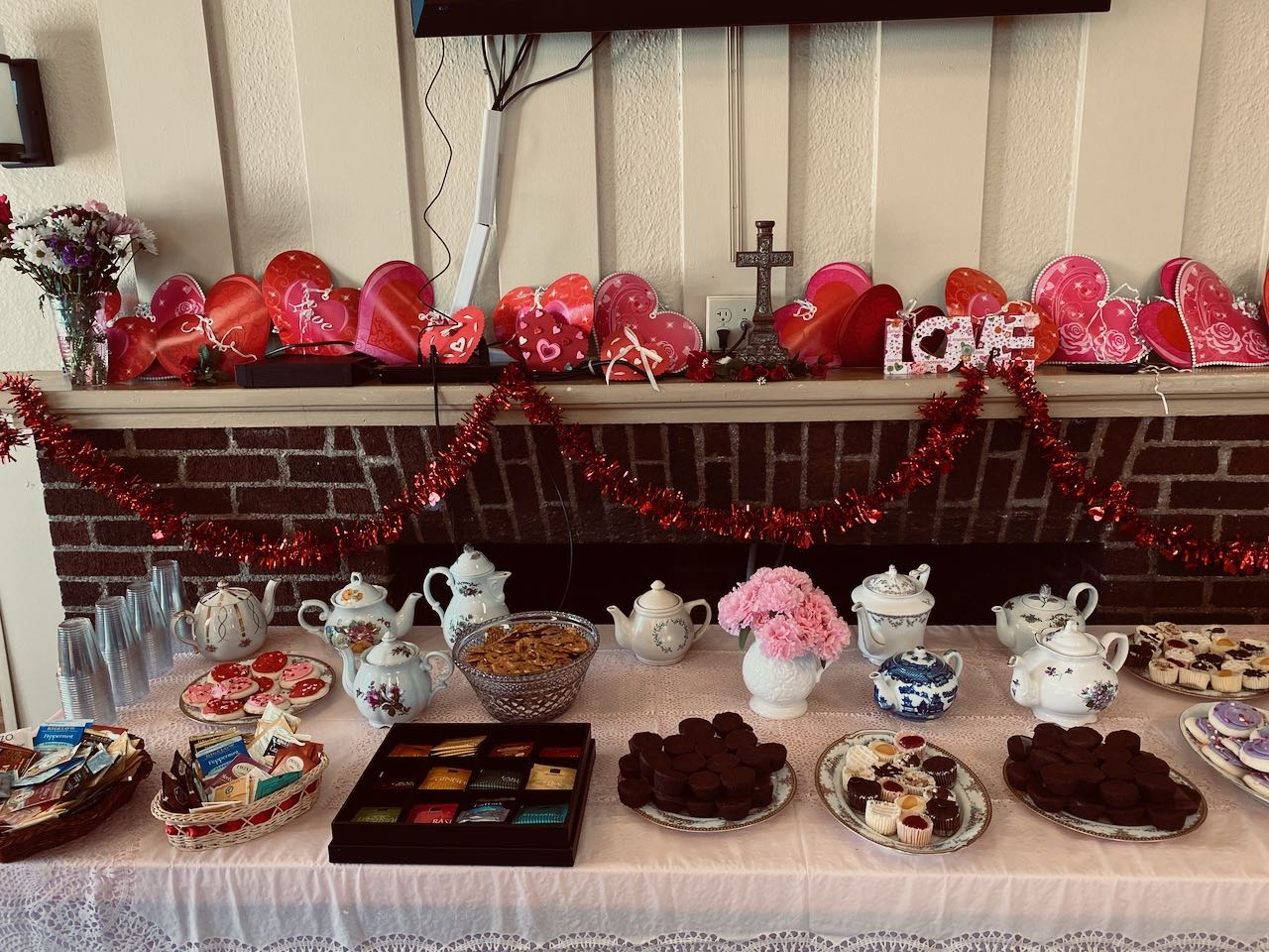Valentine's Day Tea at English Meadow's!