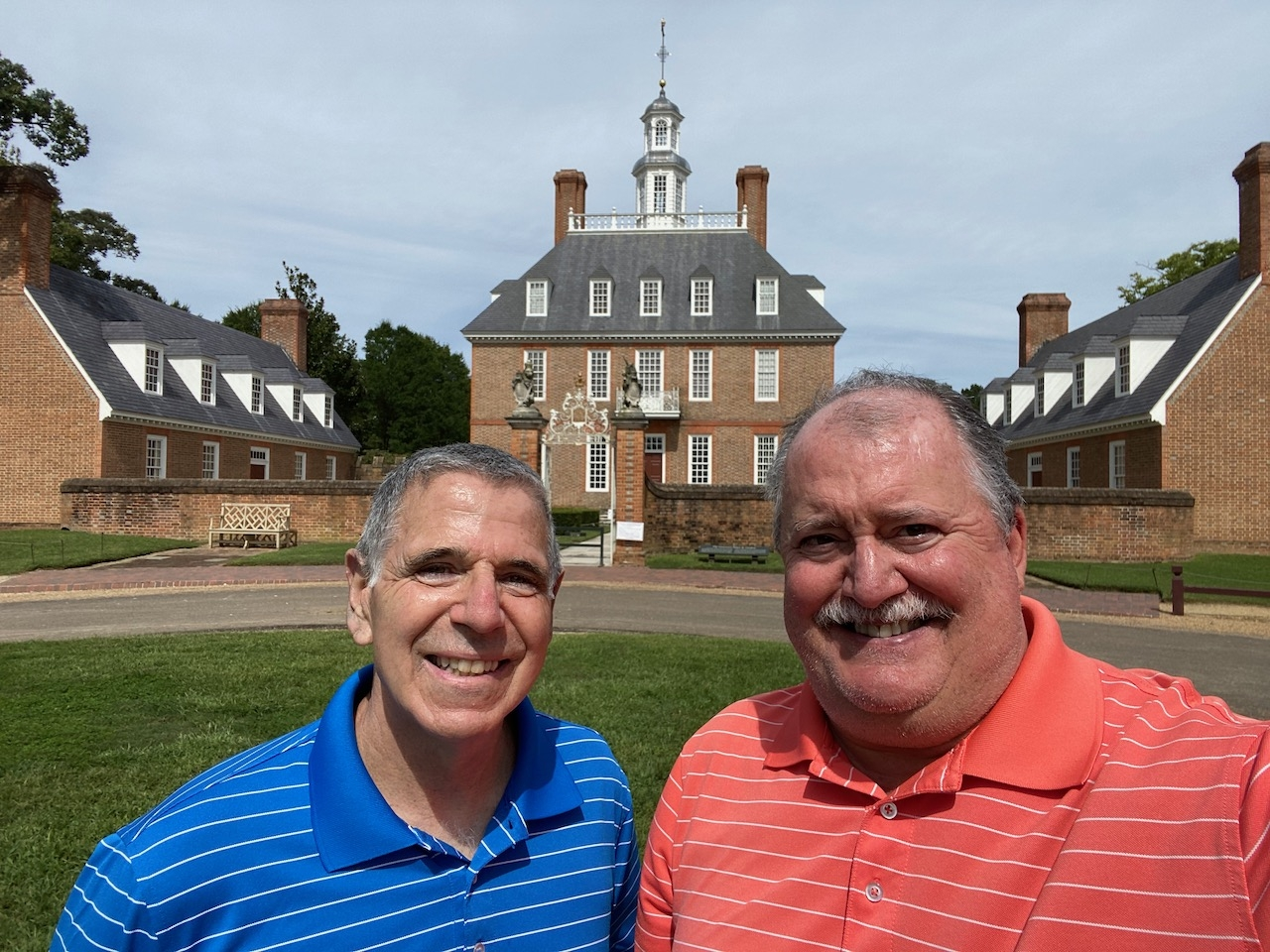 Touring Around a Very Quiet Colonial Williamsburg!